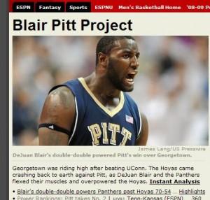 Pitt is the Headliner